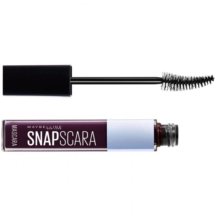 Maybelline New York Snapscara Maskara - Black Cherry - Koyu Mürdüm
